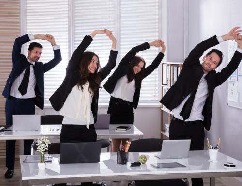 Échauffements au travail : mon rituel santé