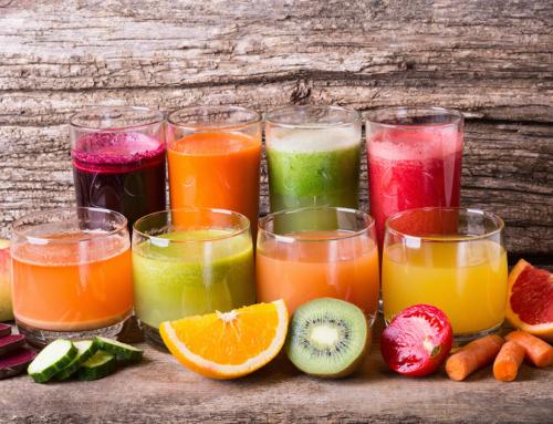Bar à jus de fruits frais