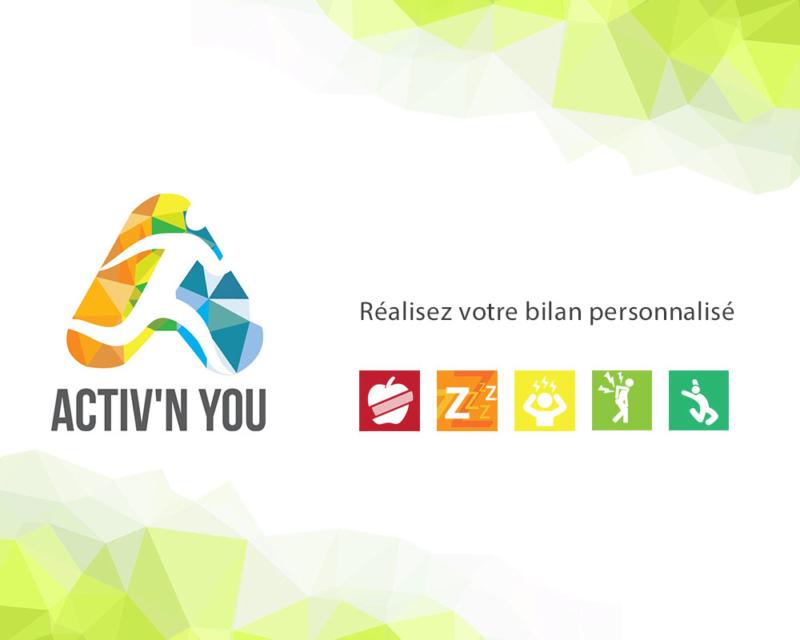 Image de la banderole Activnyou, Activ'n you le baromètre santé de vos équipes